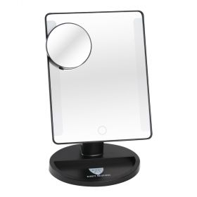 Beverly Hills Beauty Solution LED Light up Mirror - Black