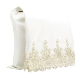 Athwab Huday Off White With Gold Set