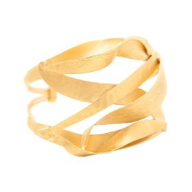 Arium Collection - Willow Gold Bangle