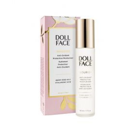 Doll Face Nourish Anti-Oxidant Protective Moisturizer | All Skin Types