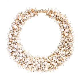 Arium Collection - Cinderella Gold/Pearl Necklace
