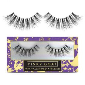 Pinky Goat - 3D Mink Collection Lashes - Nagham