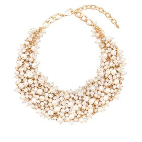 Arium Collection - Monsoon Gold/Pearl Necklace