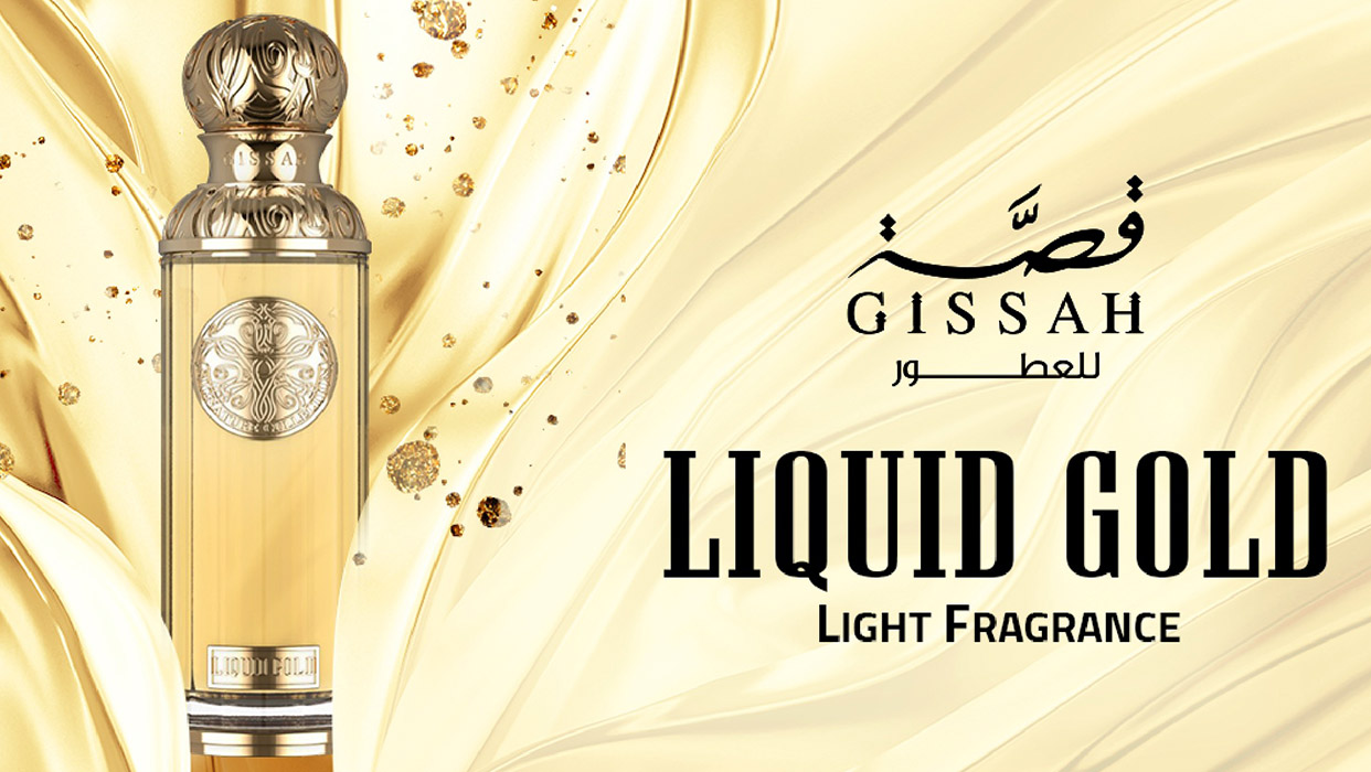 Liquid Gold Light Fragrance By Gissah