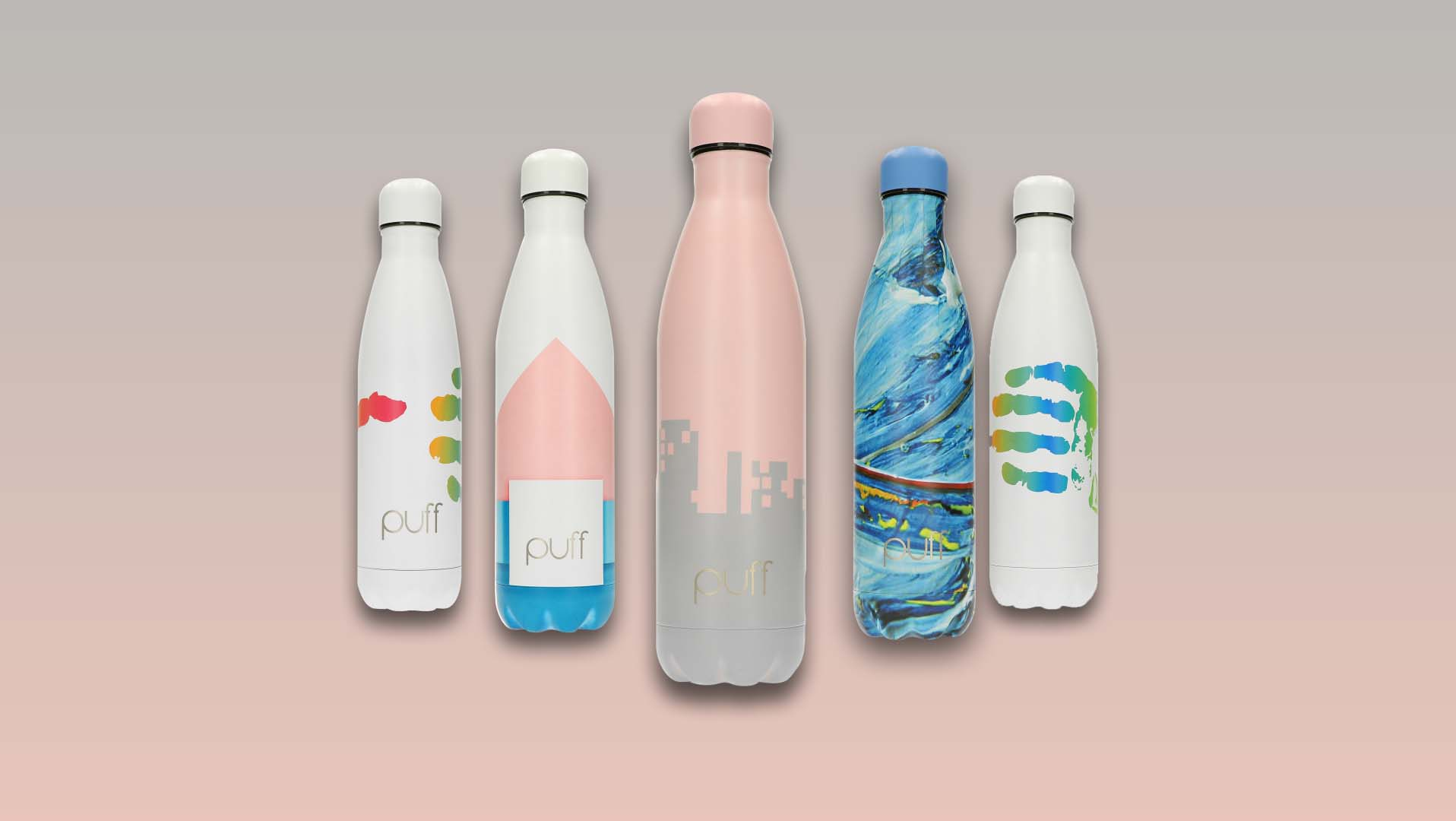 Puff Bottles New Color Collection 1