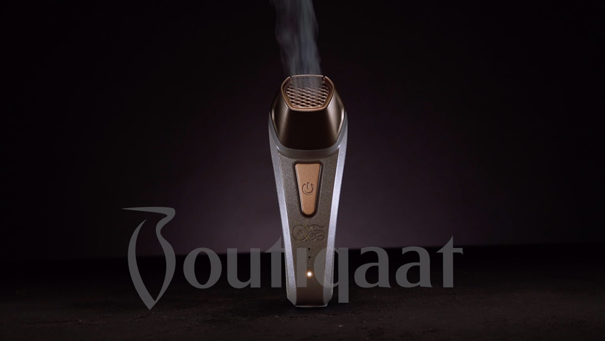 Dukhoon Portable Bakhour Burner - Pearl