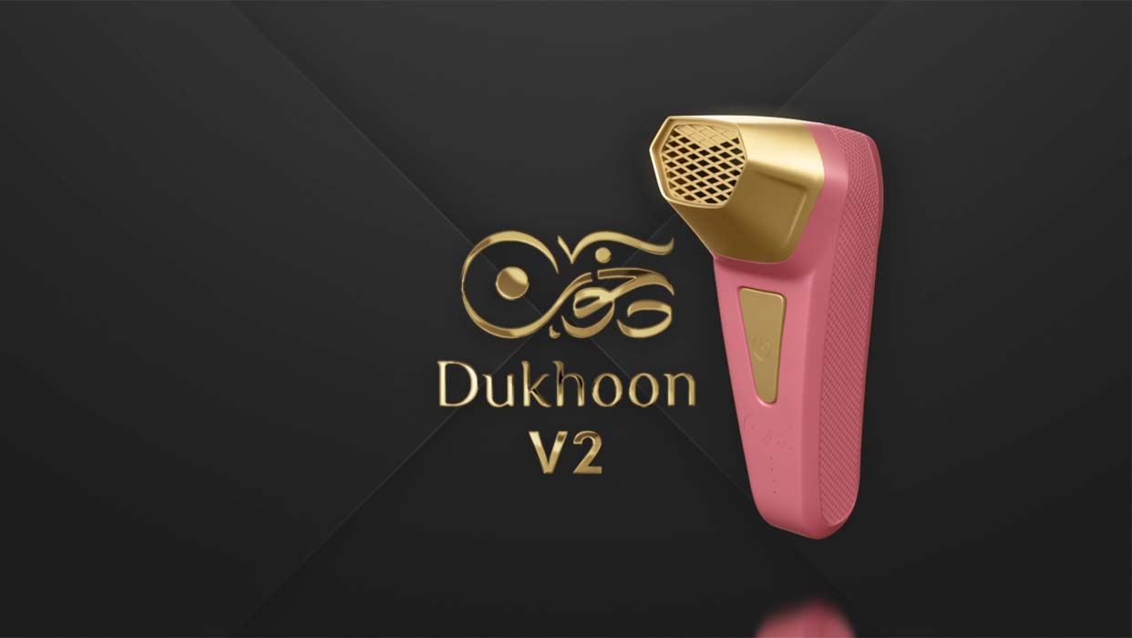 Portable Bakhour Burner - Pink By Dukhoon 1