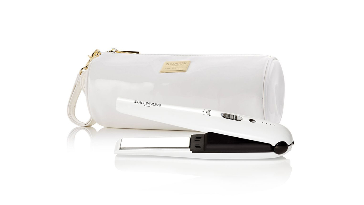 Ahlam Alshamsi Coverage on Cordless Straightener by Balmain