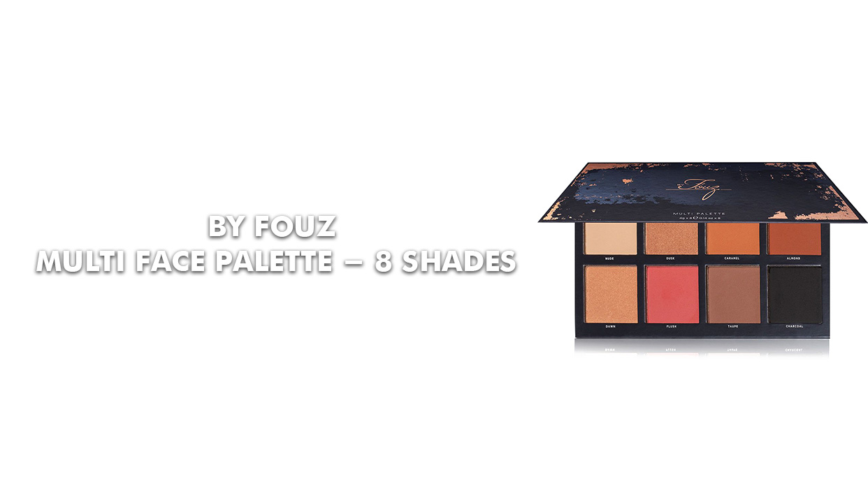 The Real Fouz Coverage On Multi Face Palette - 8 Shades