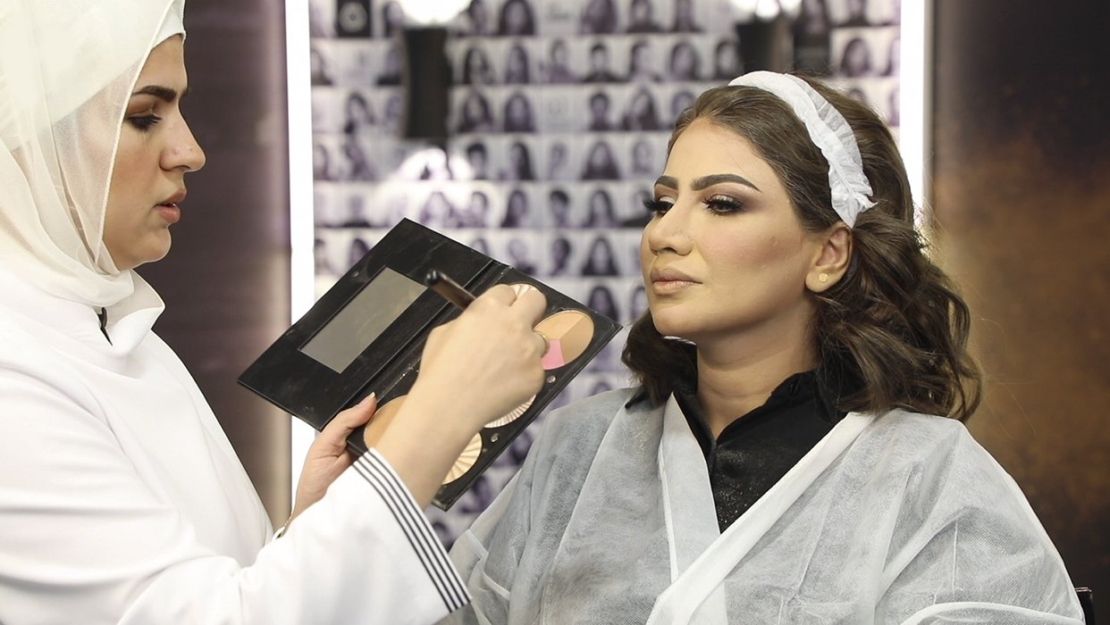 Makeup Tutorial Kholod Alshmmari on Snyorita