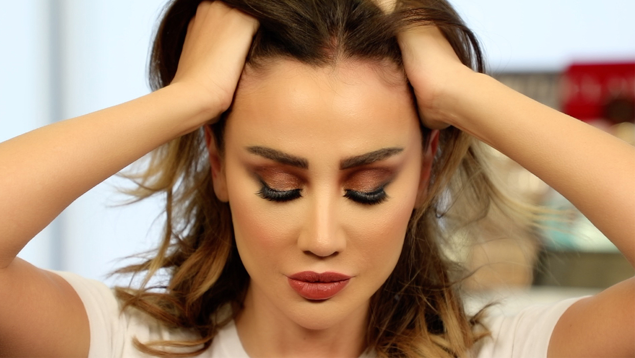 Makeup Tutorial By Mona Alnoman On Ghina Ghandour