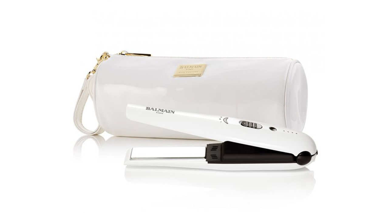 Ahlam Coverage on Balmain Cordless Straightener