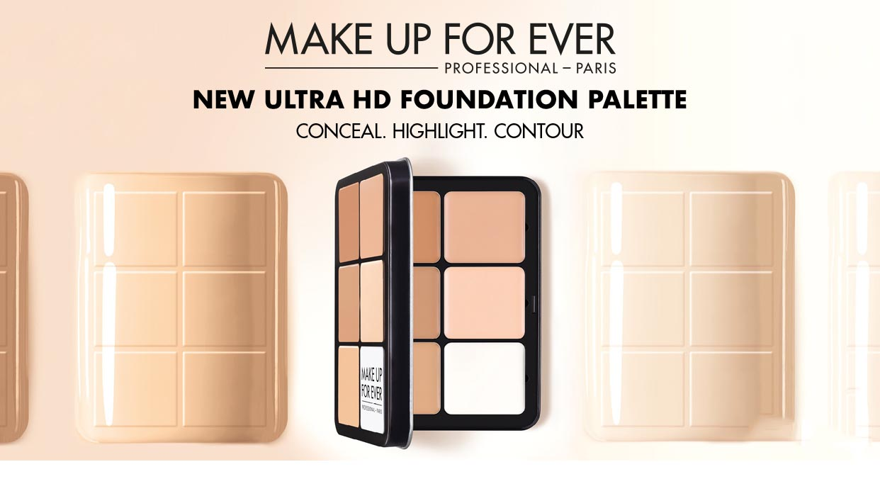 Coverage by Sabi on Makeup Forever HD Palette