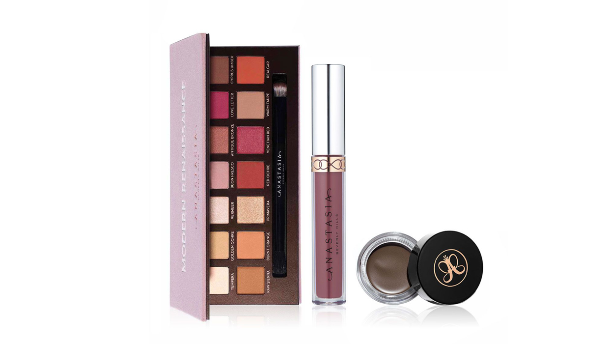 Celebrities coverage on Anastasia Modern Renaissance Makeup Set