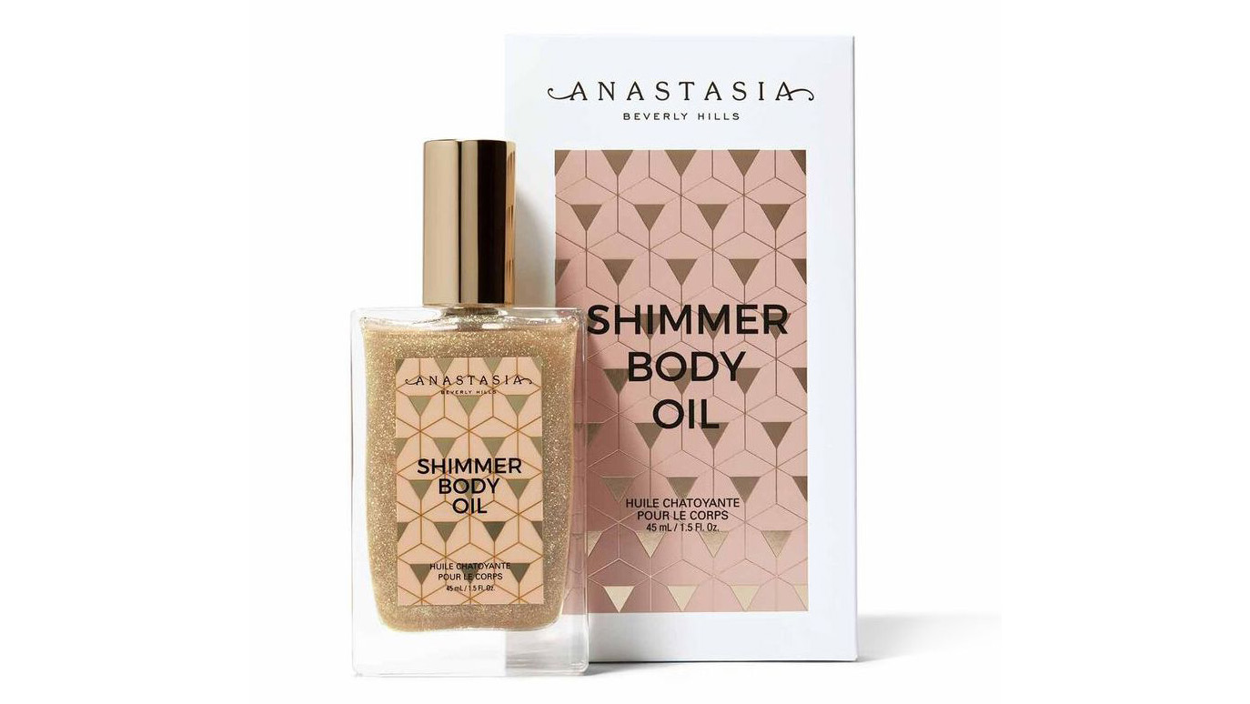 Mashael Alyaseen Coverage on Anastasia Shimmer Body Oil