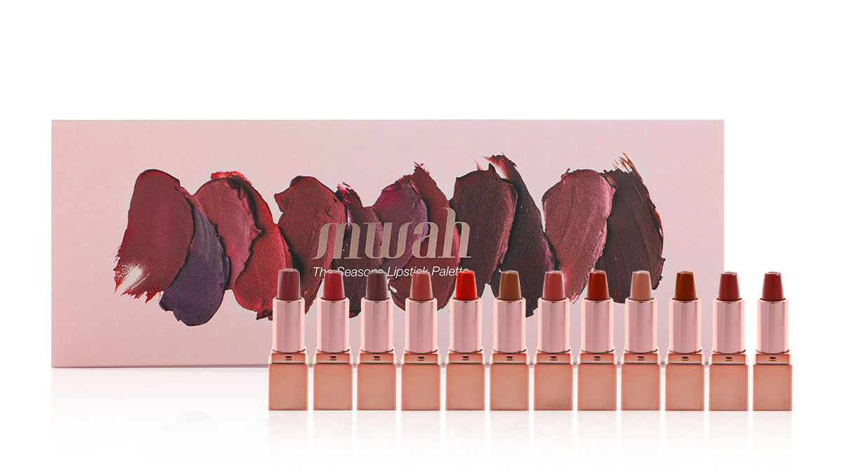 Zainab Alalwan Coverage on Mwah Lipstick palette