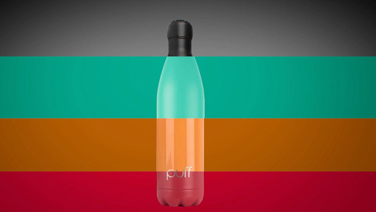 PUFF Bottles-New color Collection