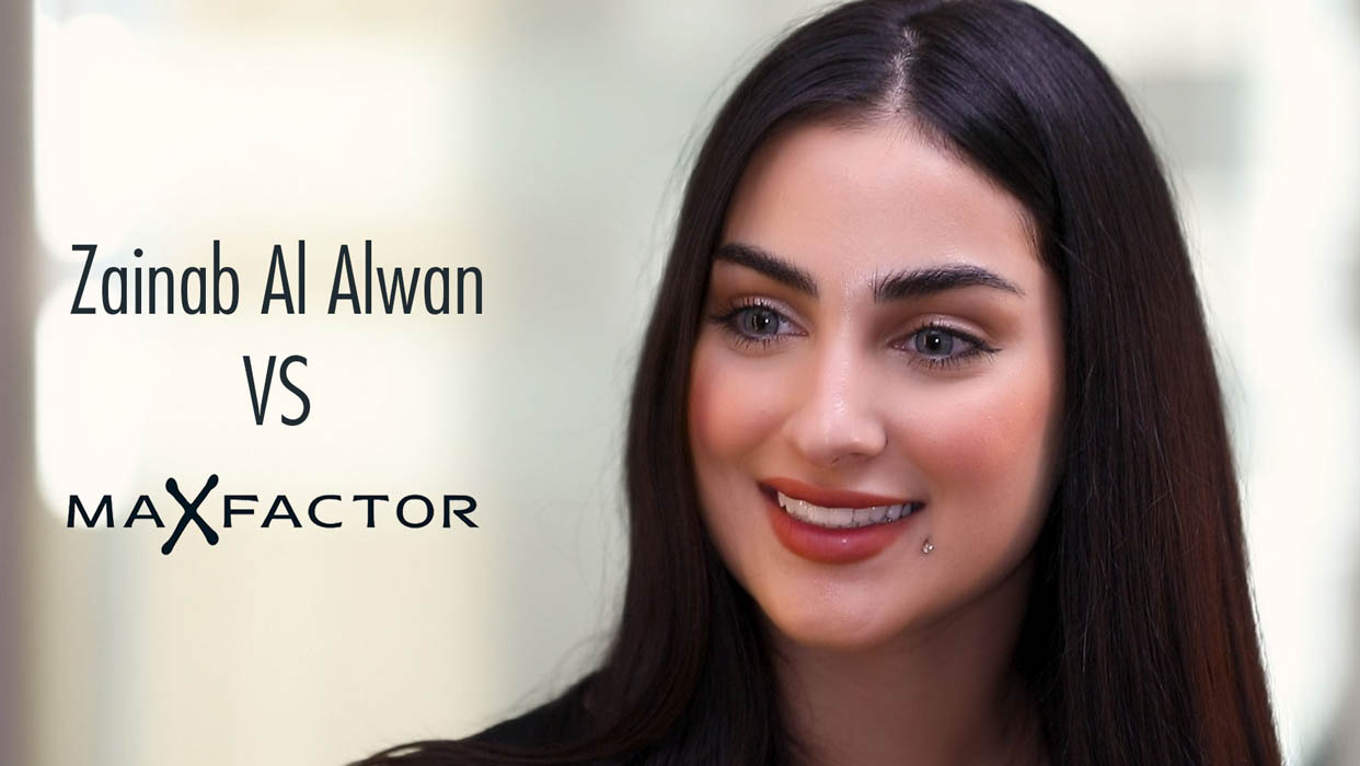Inside Boutiqaat - Zainab Al Alwan VS Max Factor