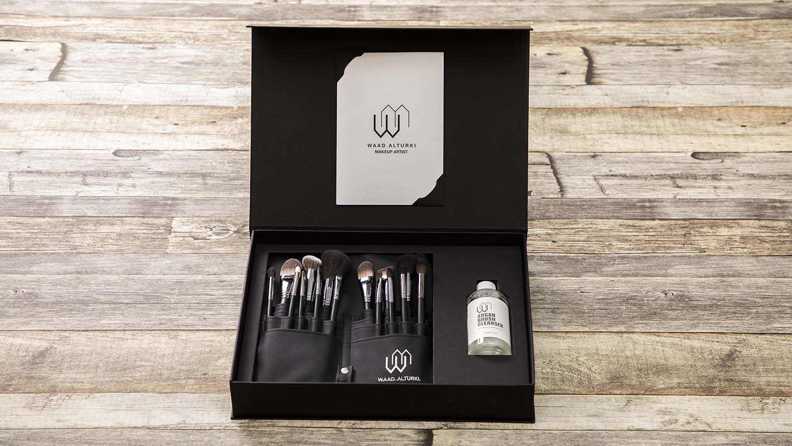 Waad AL-Turki Brush Set