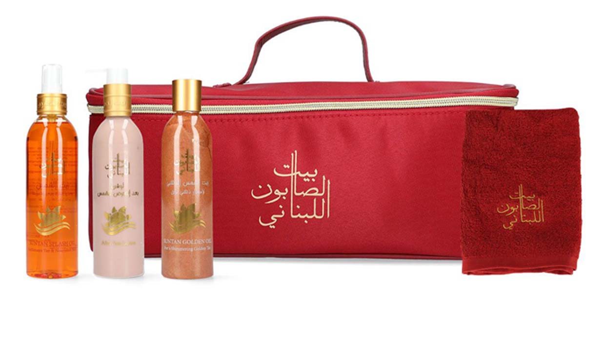 Fawaz Coverage on Bayt Al Saboun Lebanon Suncare Set