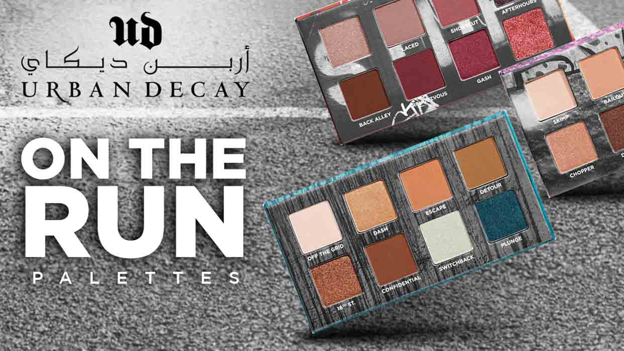 Shouq Coverage on Urban Decay On The Run
