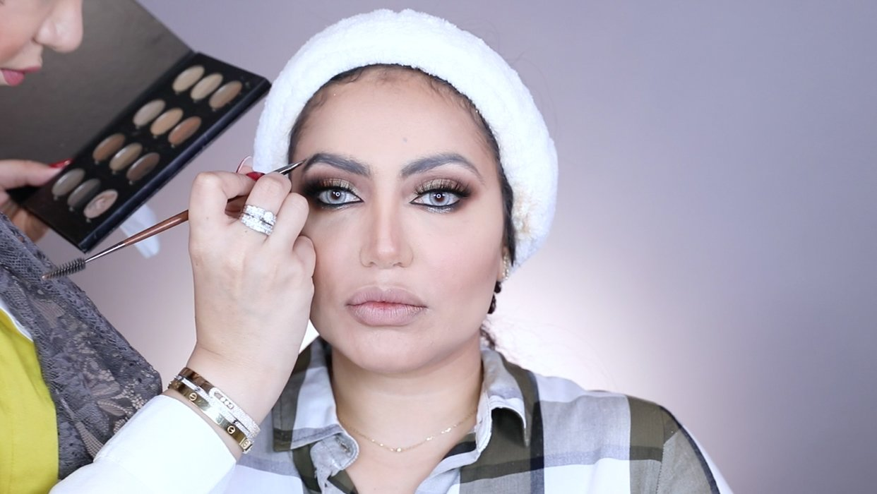 Makeup Tutorial by Dalal Al Arbash on Fouz Al Shatti