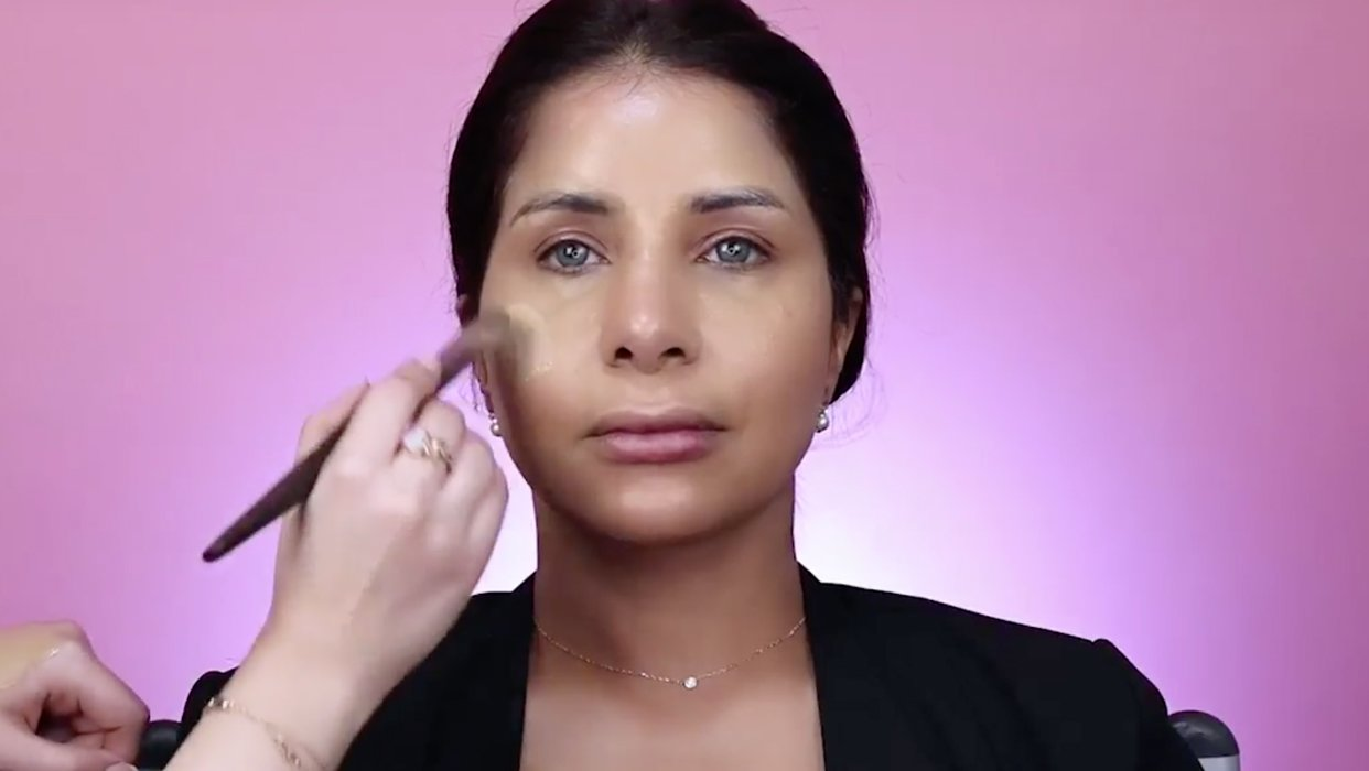 Makeup Tutorial by Anosha on Mai Al Bloushi