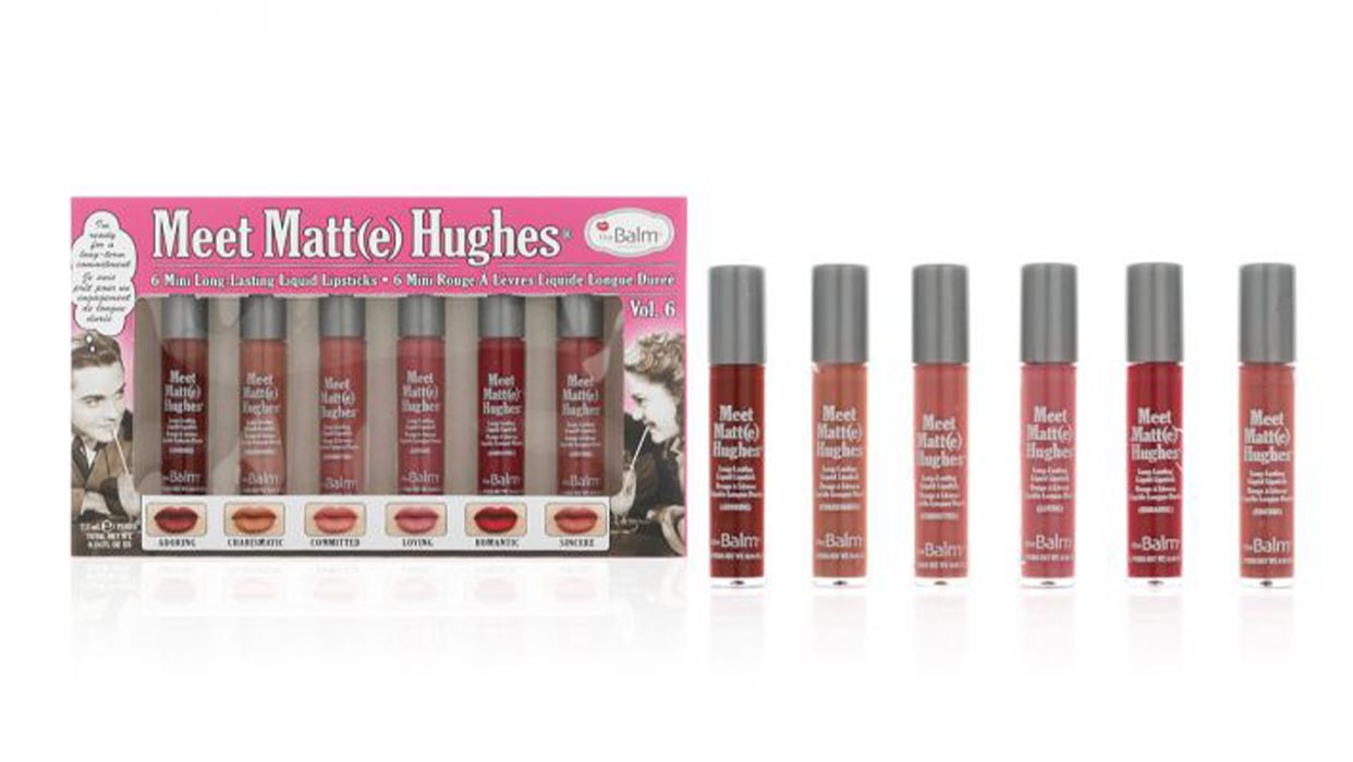 Lama Saad Coverage on Meet Matte Hughes Mini Lipstick Kit