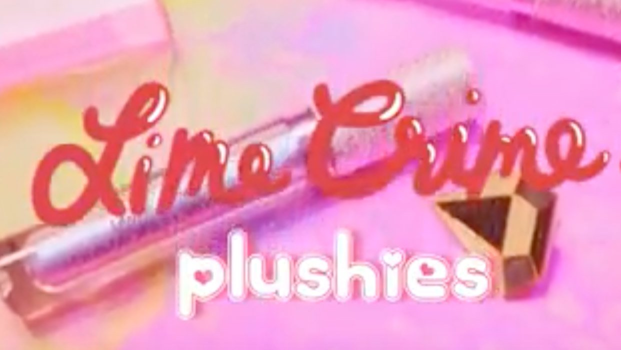 Lime Crime Plushes