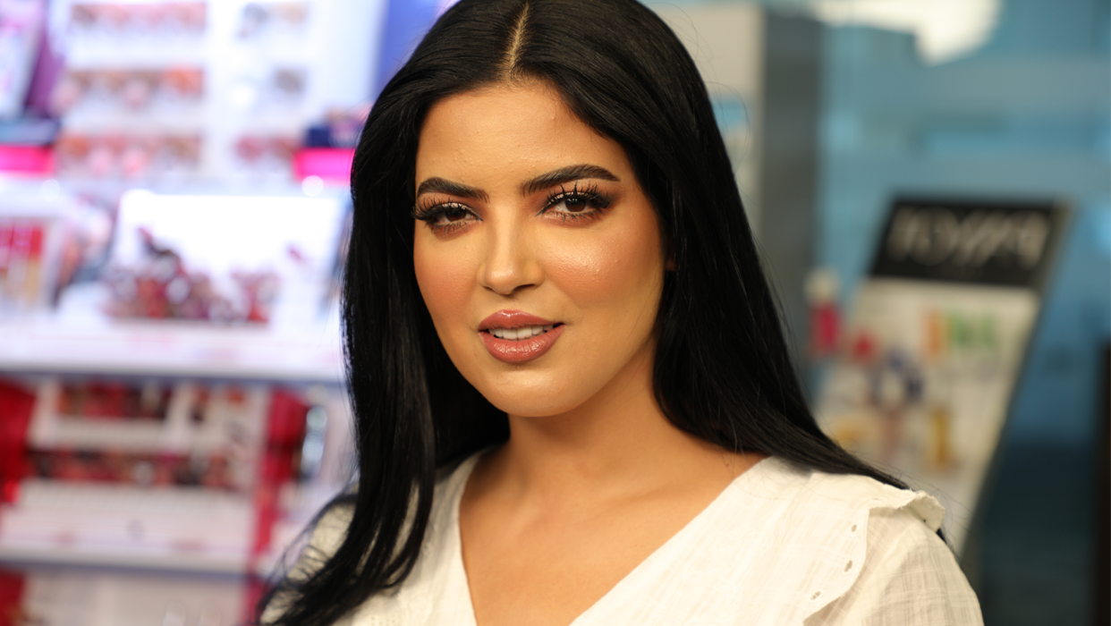 Makeup Tutorial by Nour Sharaf on Hind Boumchamar