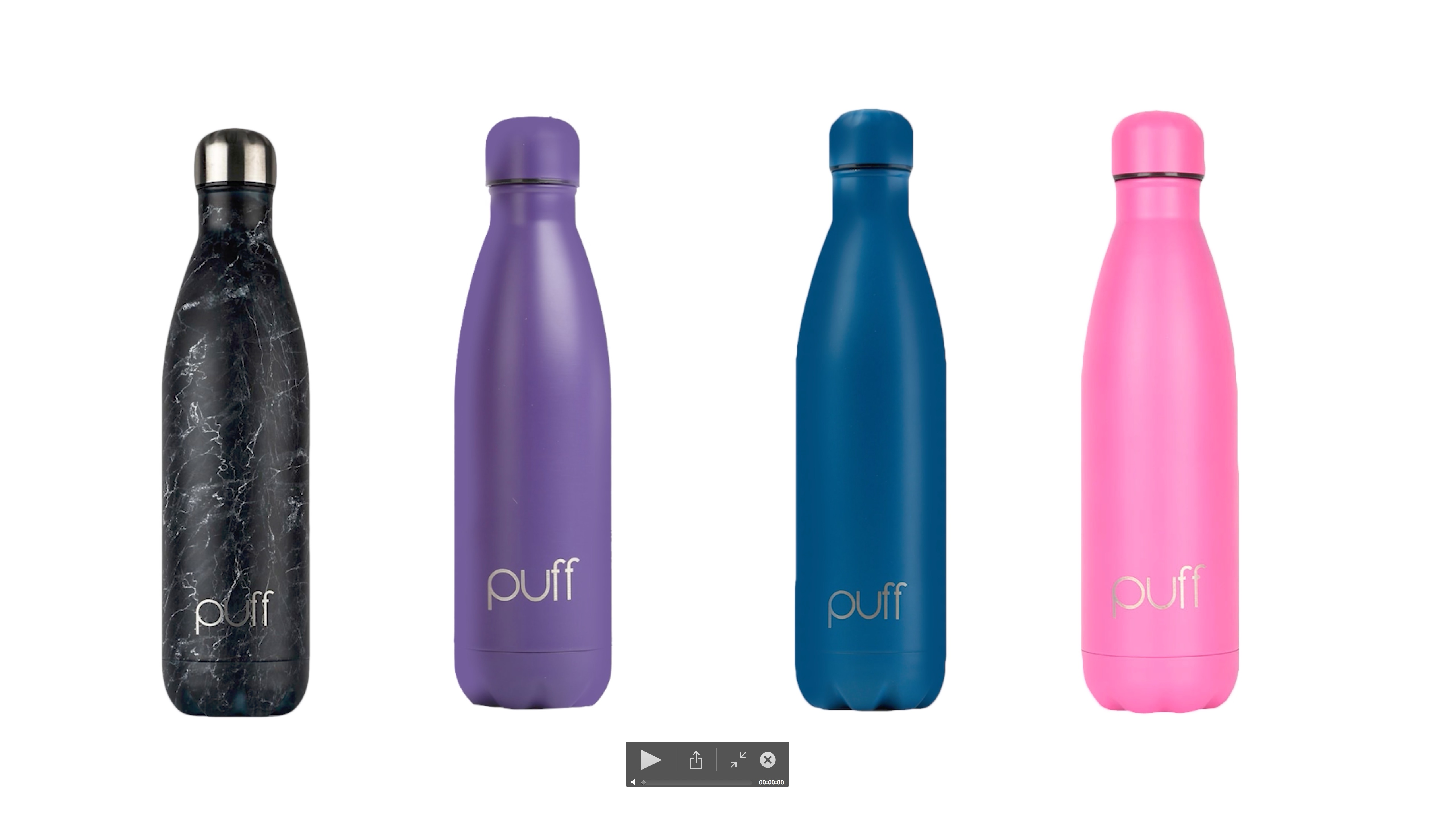 Puff Bottles New Color Collection