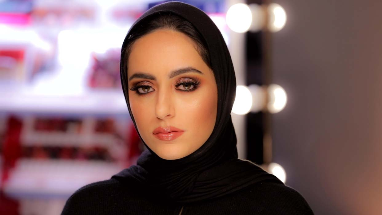 Makeup Tutorial by Bouba on Dina Al Sharif