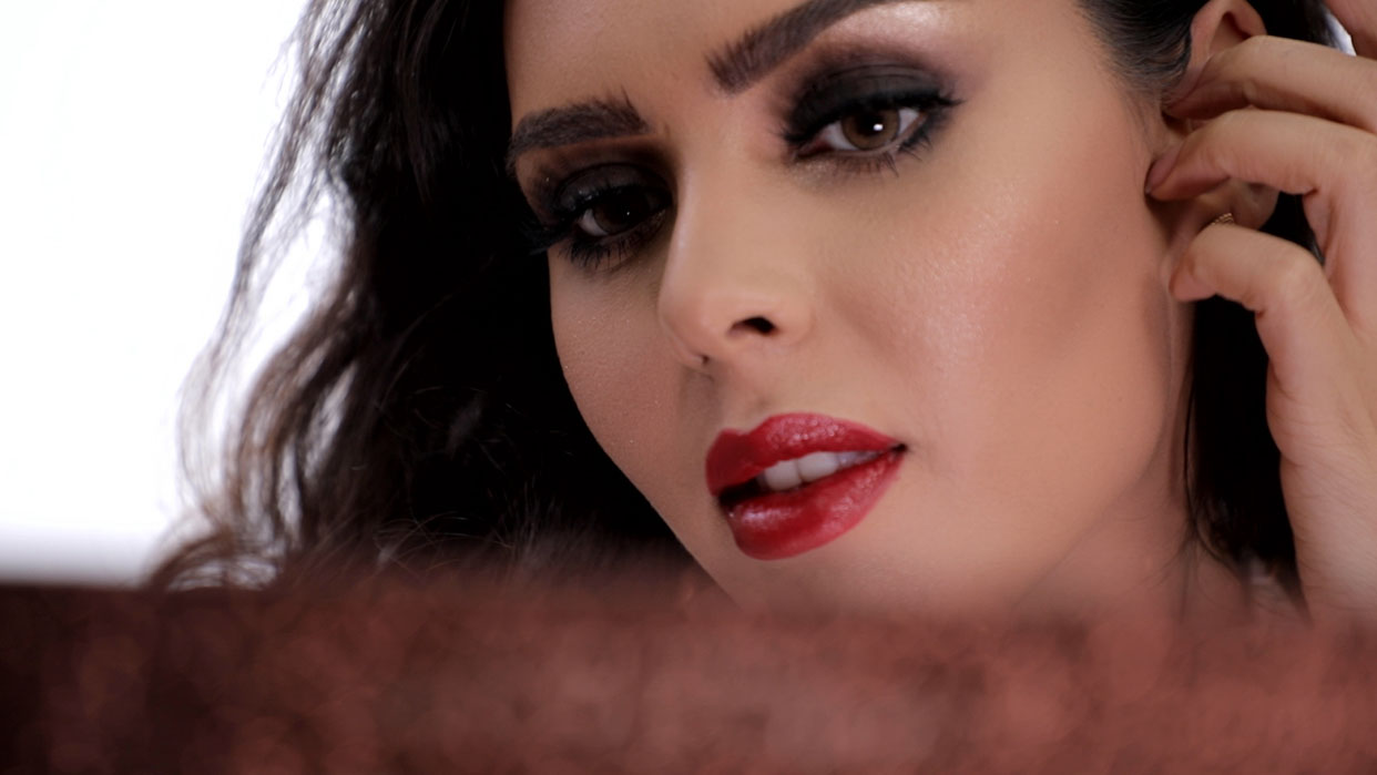Makeup Tutoria by Jawaher on Sarah Abdulaziz