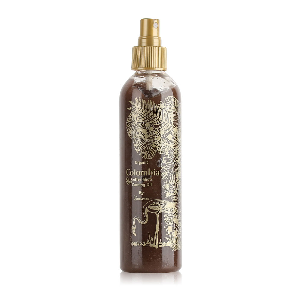 Colombia Brown Made with Coffee Tanning Oil - 250ml
