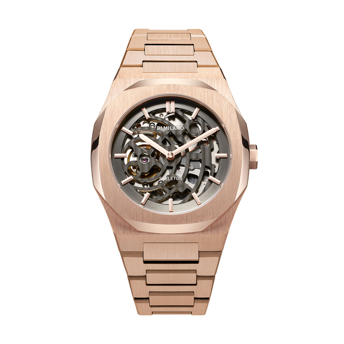 Automatic Stainless Steel Rose Gold Watch