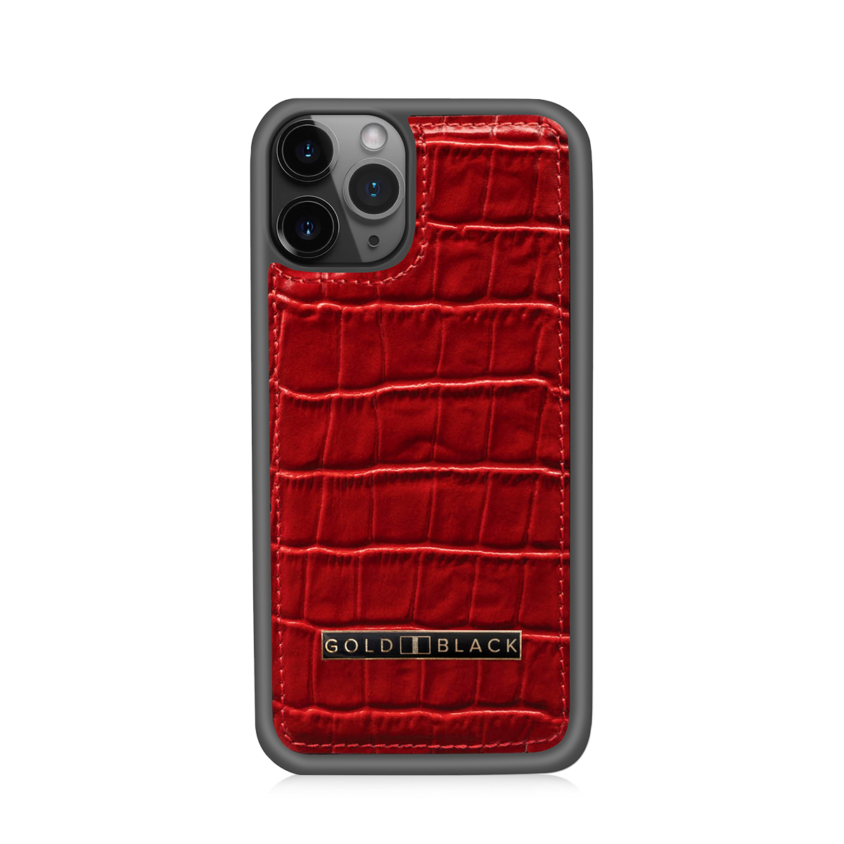 Croco Red iPhone Case