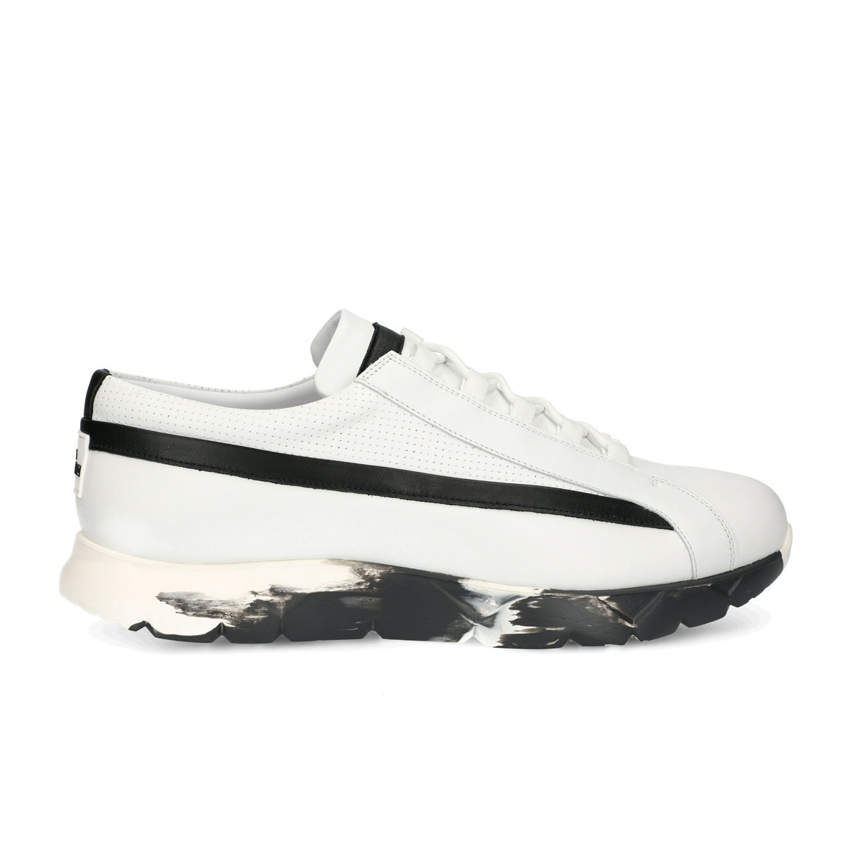 Wave Line Sneakers - White