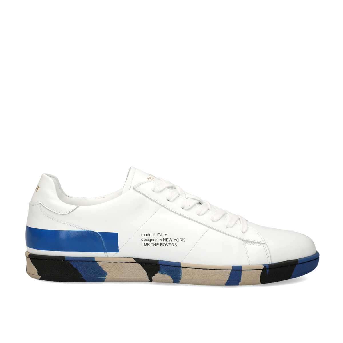 Basic Block 217 Leather Sneakers - White