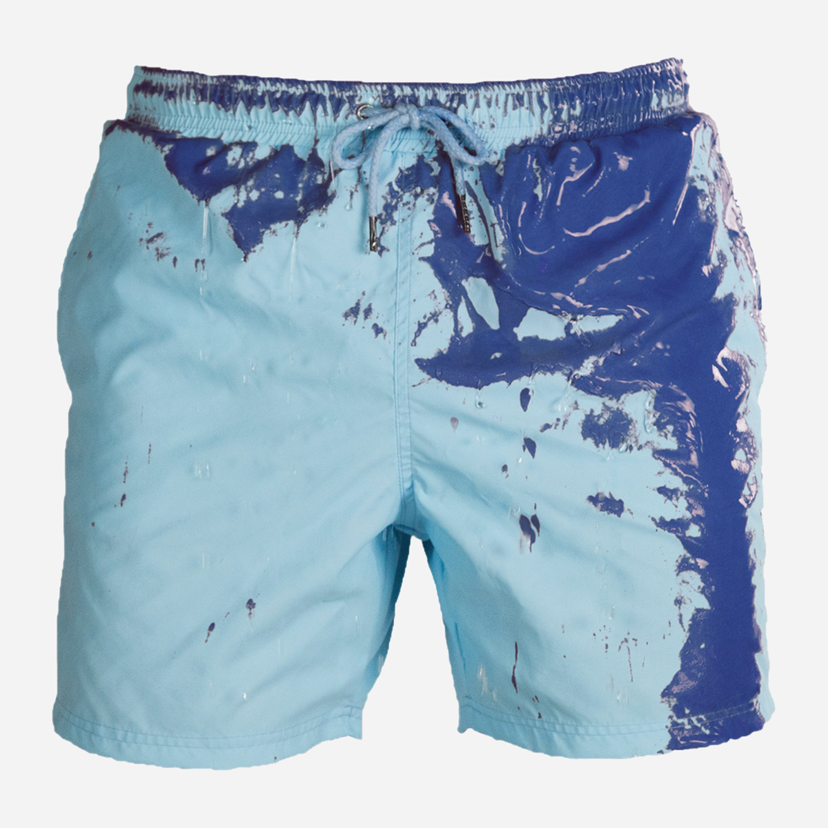 Color Changing Swimming Shorts - Blue