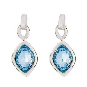 Daniel Swarovski® Edition Silver Lemon Stone Earrings