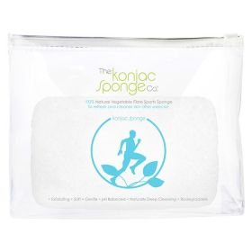 The Konjac Sponge - Sports Sponge For Men - Blue