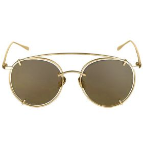 Belvoir & Co.Utopia Gold and Gold Sunglasses