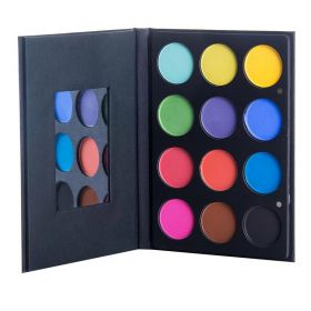 Ofra - Professional Bright Addiction Eyeshadow Palette - 12Shade