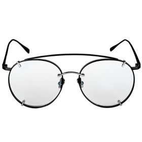 Belvoir & Co.Utopia Black and Clear Sunglasses