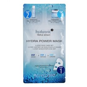 Etre Belle  Hyaluronic Hydra Power Mask 3-Step Face Care Set - 5PCS