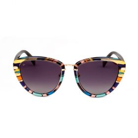Prive Revaux  - The Monet Cat-eye Purple Grey Gradient  & Purple Tortoise Sunglasses