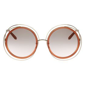 Chloe Sunglasses Carlina gold caramel Sunglasses