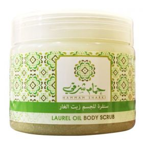 Hammam Sharki Laurel Oil Body Scrub - 500gm