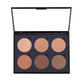 Love Me Cosmetic Cream Colour Corrector Palette 6 Well - Dark