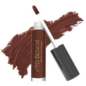 D. Benoit Matte Lip Colour - N Mc 104 - Chocolate Tsunami